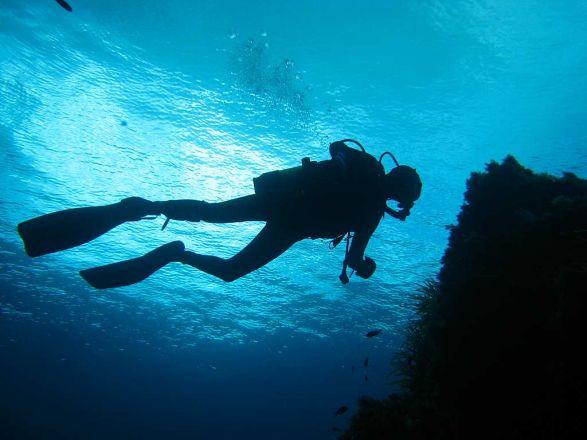 ronjenje more