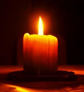 svijeća mrtvi