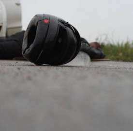 nesreća prometna sudar motor