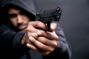 lopov oružje policija