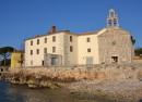 glavotok krk otok samostan