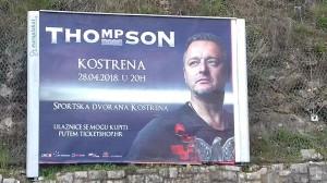 Najave koncerta postavljene su širom Kvarnera