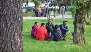 Park je postao zona imigranata
