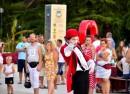 klaun ulični zabavljač