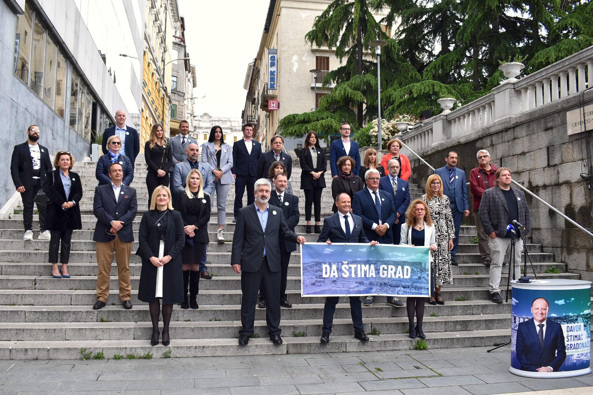 Davor Štimac predstavljanje kandidata za Gradsko vijeće 2